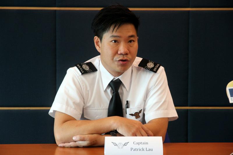 香港青年航空学会创始人刘伯智(摄影:苏粤)