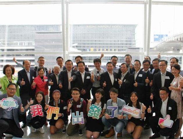 香港青年庆回归内地之旅 寻民族根追中国梦