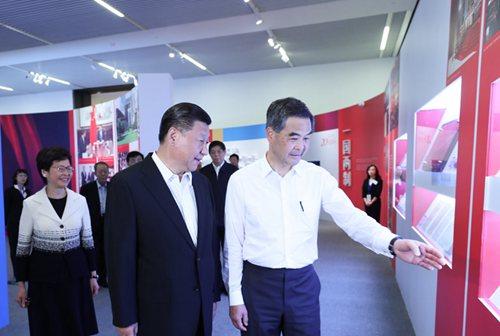 经济、民生、共进 习近平对香港的殷切瞩望