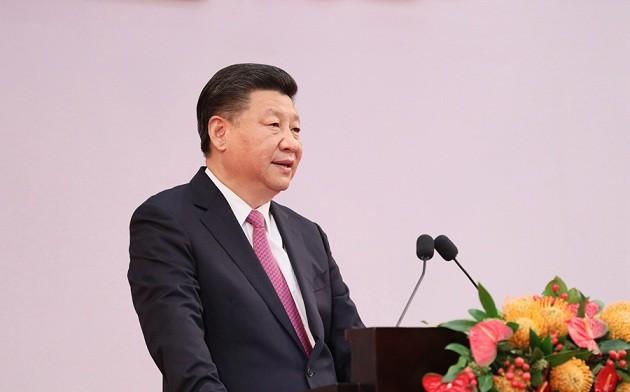习近平出席庆祝香港回归祖国20周年大会并发表重要讲话