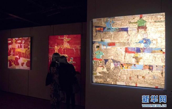 中东艺术家联展亮相香港苏富比