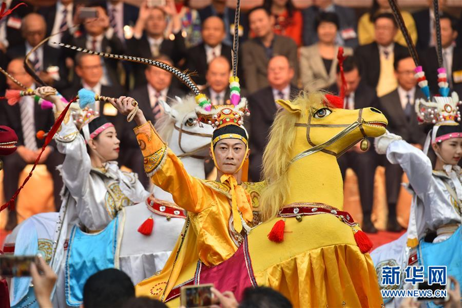 """第二届""""香港潮州节""""开幕 多角度展示潮州文化"""