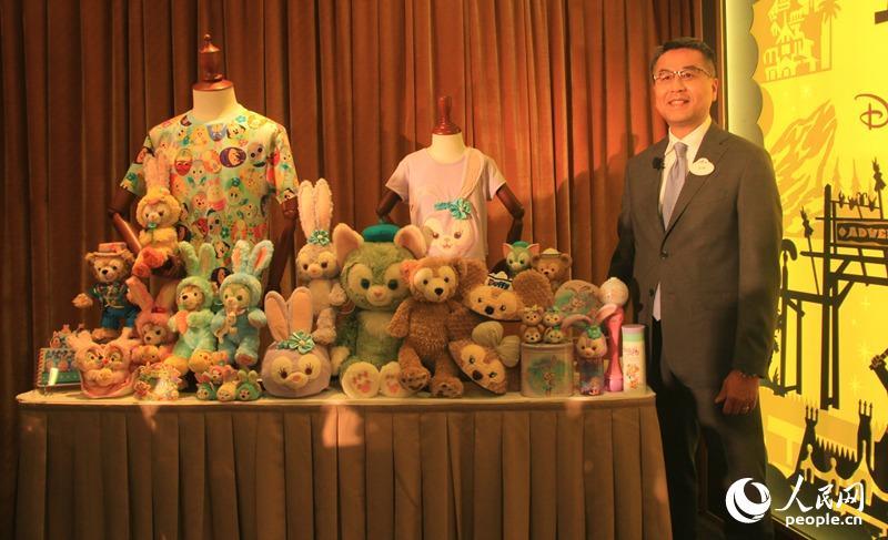 香港迪士尼乐园度假区公布2017财政年度业绩报告(摄影:辜雨晴)