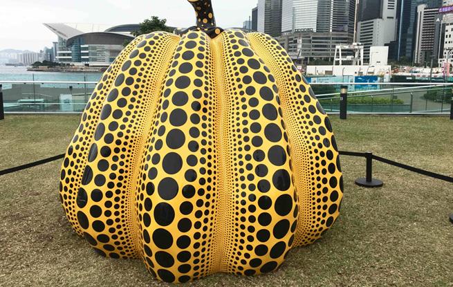 """无围墙的博物馆:plws6688.com,香港""""艺游维港""""雕塑公园开幕"""