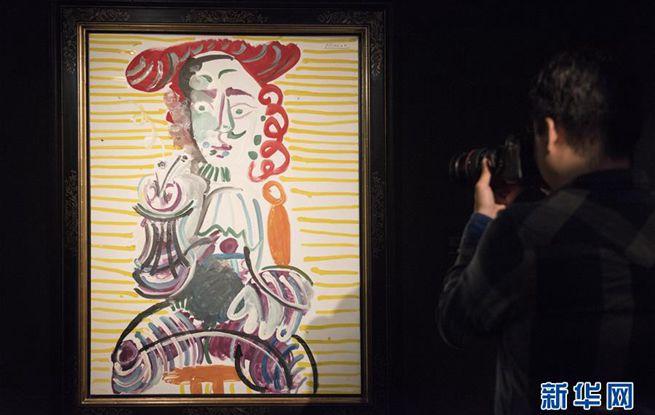 逾40幅毕加索与康多肖像画作品亮相香港
