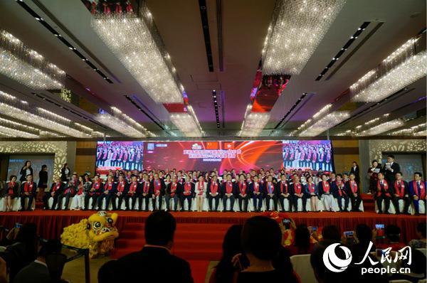 香港特别行政区成立21周年暨新社联成立33周年会庆(摄影:沈婧婕)