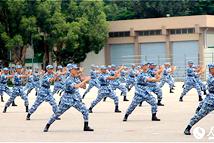第十四届香港青少年军事夏令营结业