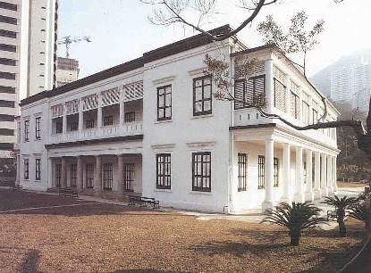 旧别墅院子