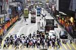 实拍香港不堵车细节